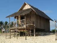 One storey hut