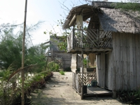 Two storey hut